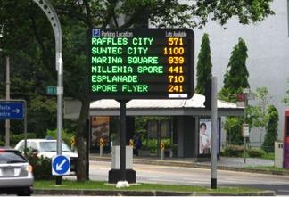 Singapore carpark