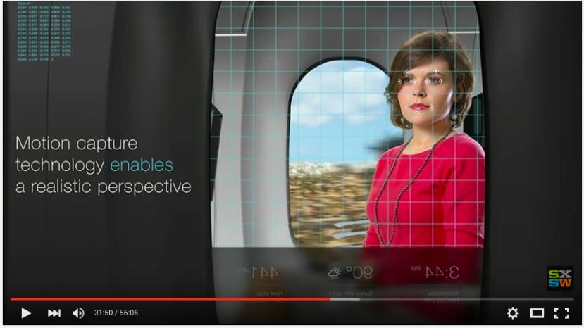 Augmented window hyperloop